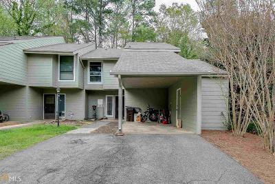 Alpharetta Condo/Townhouse Under Contract: 124 Woodhaven Way