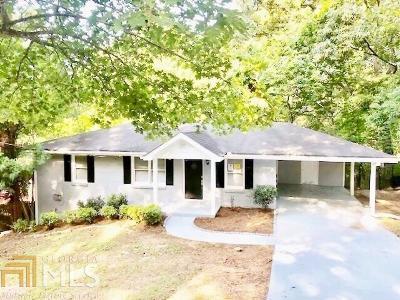 Ellenwood Single Family Home Under Contract: 4457 Lincoln Jones Rd