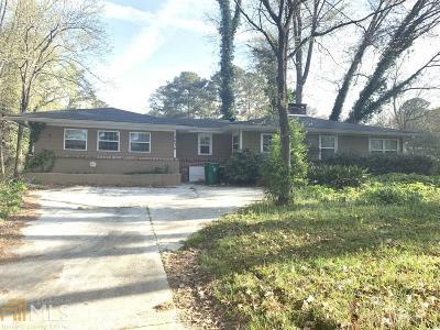 Stone Mountain Single Family Home New: 3634 Dial Dr