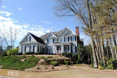 Roswell Single Family Home For Sale: 3301 Chimney Ln