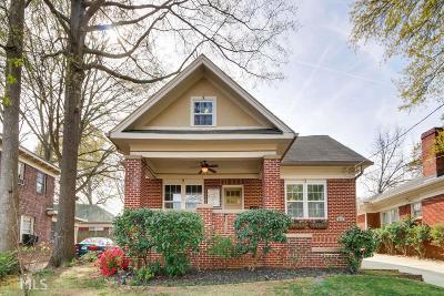 Atlanta Single Family Home New: 406 Callan