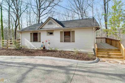 Dawsonville Single Family Home Under Contract: 102 Toto Creek Dr E