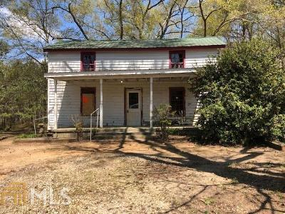 Social Circle Single Family Home New: 676 Paine Crossing Rd
