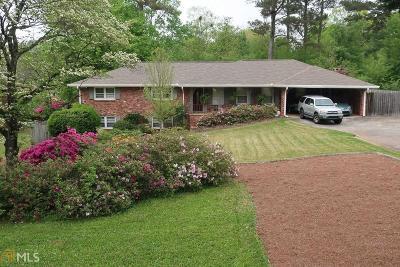 Tucker Single Family Home Under Contract: 1706 Brockett Rd