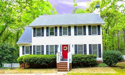 Douglasville Single Family Home New: 5057 W Chapel Hill Rd