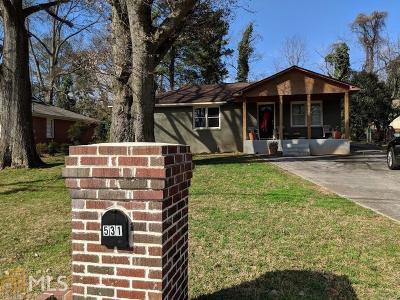 Smyrna Single Family Home New: 531 Kennesaw Dr