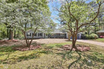 Fayetteville Single Family Home Under Contract: 2021 Forest Dr
