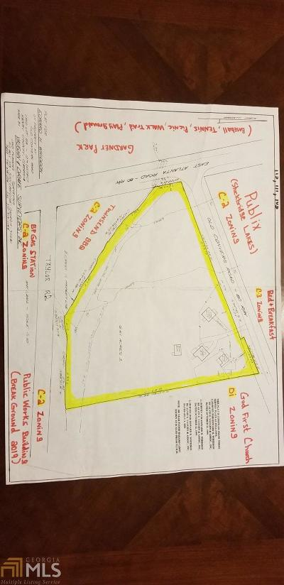 Stockbridge Residential Lots & Land New: 105 Old Conyers Rd