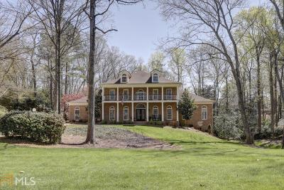 Sandy Springs Single Family Home Under Contract: 1585 Masters Club Dr