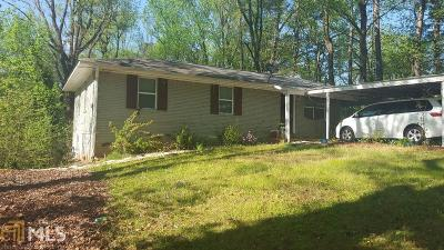 Mableton Single Family Home Under Contract: 348 Donfred Dr