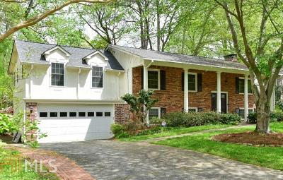 Chamblee Single Family Home For Sale: 4191 Admiral Dr