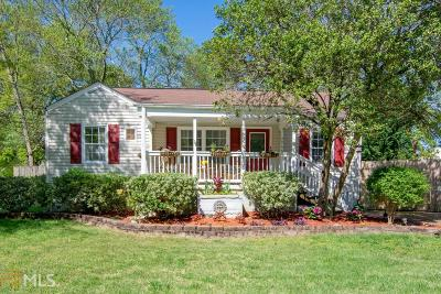 Smyrna Single Family Home Under Contract: 2966 Emory Rd