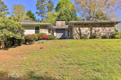 Lilburn Single Family Home Under Contract: 4641 Warrior Trl