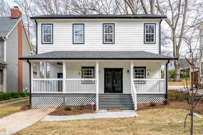 College Park Single Family Home New: 2151 Cambridge Ave