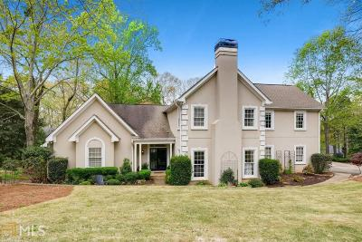 Roswell Single Family Home Under Contract: 300 Banyon Brook Pt