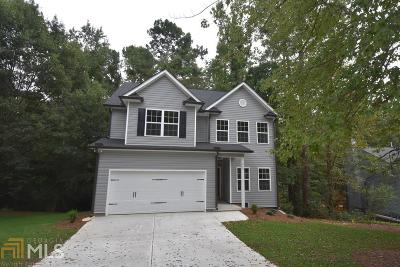 Cartersville Single Family Home New: 11 NW Griffin Mill Dr