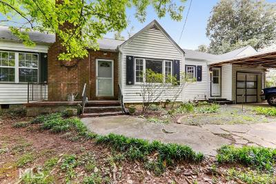 Tucker Single Family Home Under Contract: 2633 Old Norcross Rd