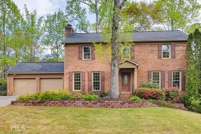 Marietta Single Family Home Under Contract: 3387 Falling Brook Dr