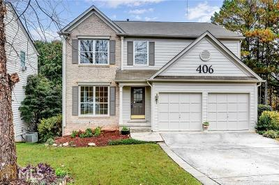 Kennesaw Single Family Home New: 406 Bottesford