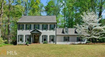 Roswell Single Family Home Under Contract: 965 Hickory Oak Hollow