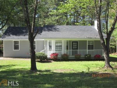 Loganville Single Family Home Under Contract: 1881 Rose Garden Ln