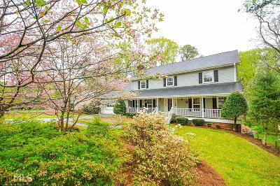 Lilburn Single Family Home Under Contract: 4711 Nutmeg Way