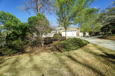 Douglasville Single Family Home Under Contract: 9760 Greenside Way
