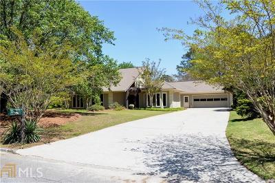Roswell Single Family Home Under Contract: 12505 Silver Fox Ct