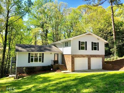 Brookhaven Single Family Home Under Contract: 1315 Becket Dr