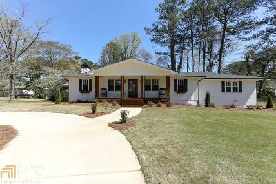 Smyrna Single Family Home New: 1335 Cliffwood Dr