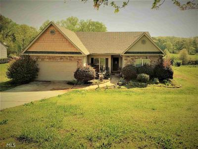 Winder Single Family Home New: 1470 Lackey Rd