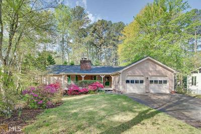 Snellville Single Family Home Under Contract: 3209 Brooks Ct
