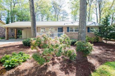 Tucker Single Family Home Under Contract: 3853 Gloucester Dr