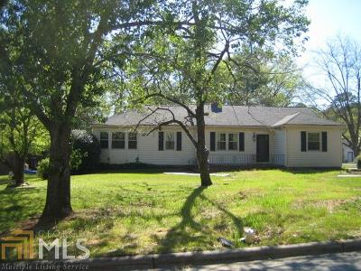 Elberton GA Single Family Home Under Contract: $169,000