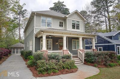 Decatur Single Family Home Under Contract: 125 McClean St