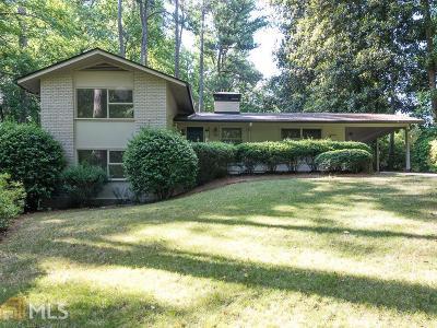 Atlanta Single Family Home New: 2800 Mornington Dr
