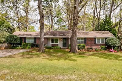 Tucker Single Family Home Under Contract: 4134 Menlo Dr