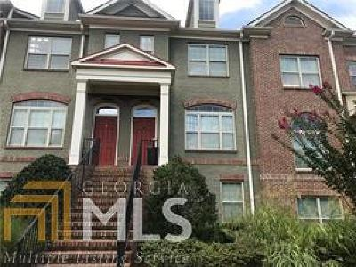 Johns Creek Condo/Townhouse For Sale: 4855 Carre Way #52