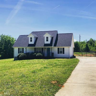 Griffin Single Family Home Under Contract: 2900 High Falls Rd