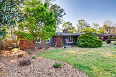 Avondale Estates Single Family Home For Sale: 897 Nottingham Dr