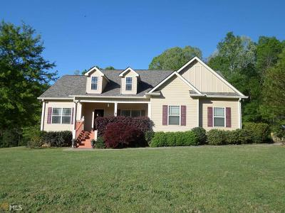 Banks County Single Family Home Under Contract: 158 Cannon Crk