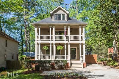 Decatur Single Family Home Under Contract: 1551 Thomas Rd