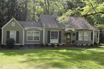 Griffin Single Family Home Under Contract: 721 Woodland Dr