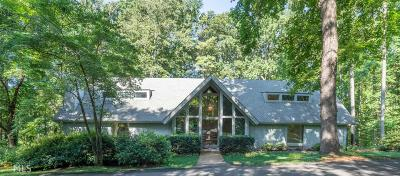Roswell Single Family Home For Sale: 11455 Hackett Rd