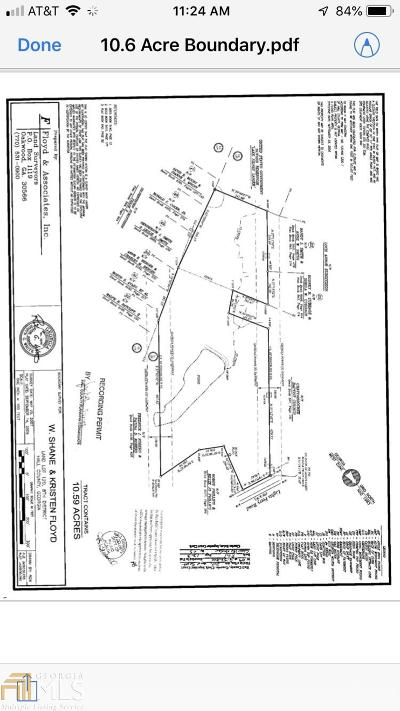 Flowery Branch Residential Lots & Land New: 6277 Lights Ferry Rd