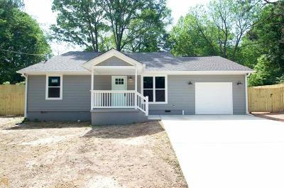 Marietta Single Family Home New: 101 Carnes Dr