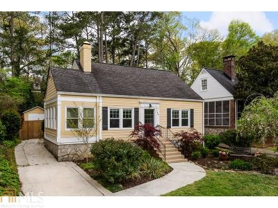 Decatur Single Family Home Under Contract: 148 Coventry Rd