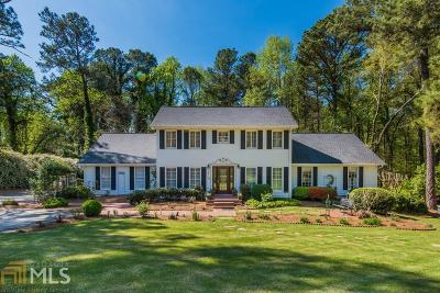 Sandy Springs Single Family Home Under Contract: 7510 Winters Chapel Rd
