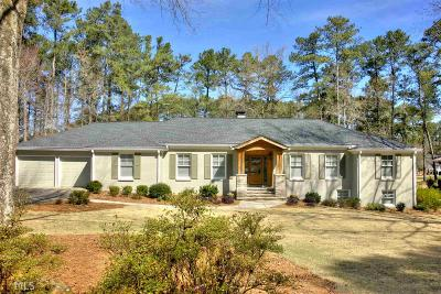 Marietta Single Family Home Under Contract: 3737 Clubland