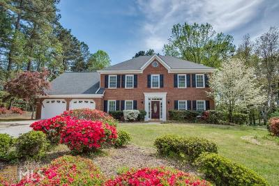 Roswell Single Family Home Under Contract: 4570 Gilhams Rd